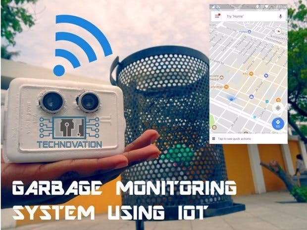 Smart Garbage Monitoring System Using Arduino 101