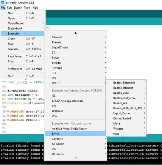 Smart Garbage Monitoring System Using Arduino 101 - Hackster io