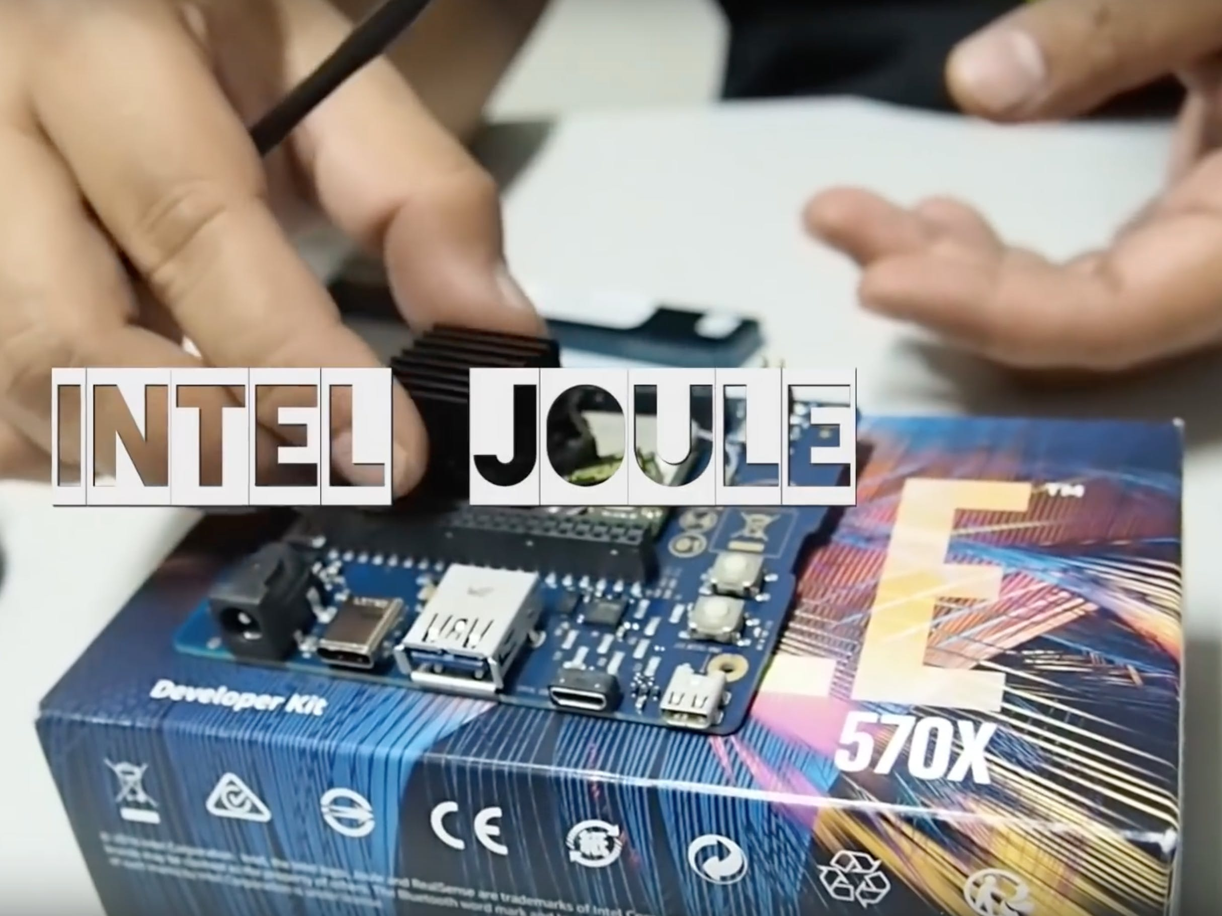Unboxing Intel Joule