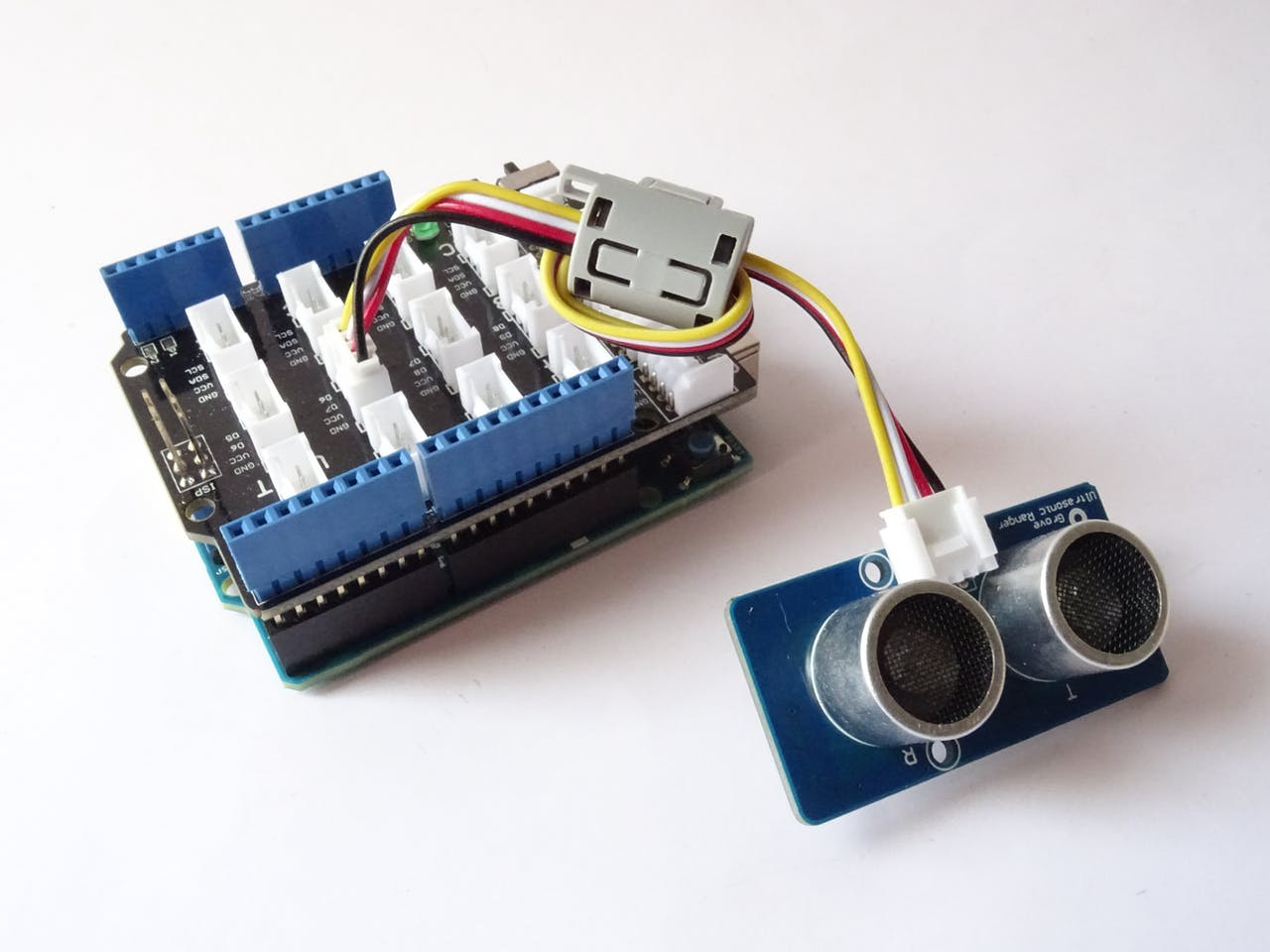 Smart Garbage Monitoring System Using Arduino 101 Circuit Digest Electronic Circuits Projects Community