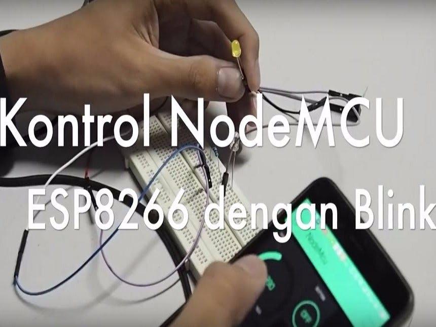 Kontrol NodeMCU ESP8266 dengan Blynk