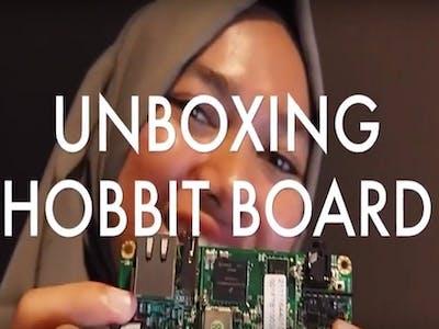 Unboxing Hobbitboard