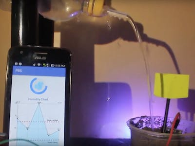 Controlling Soil Water with Android