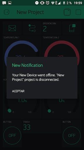Offline notifications