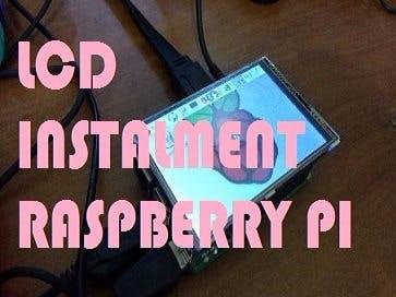 LCD Instalment Raspberry Pi
