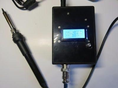 Soldering Iron Controller for Hakko 907 v.2