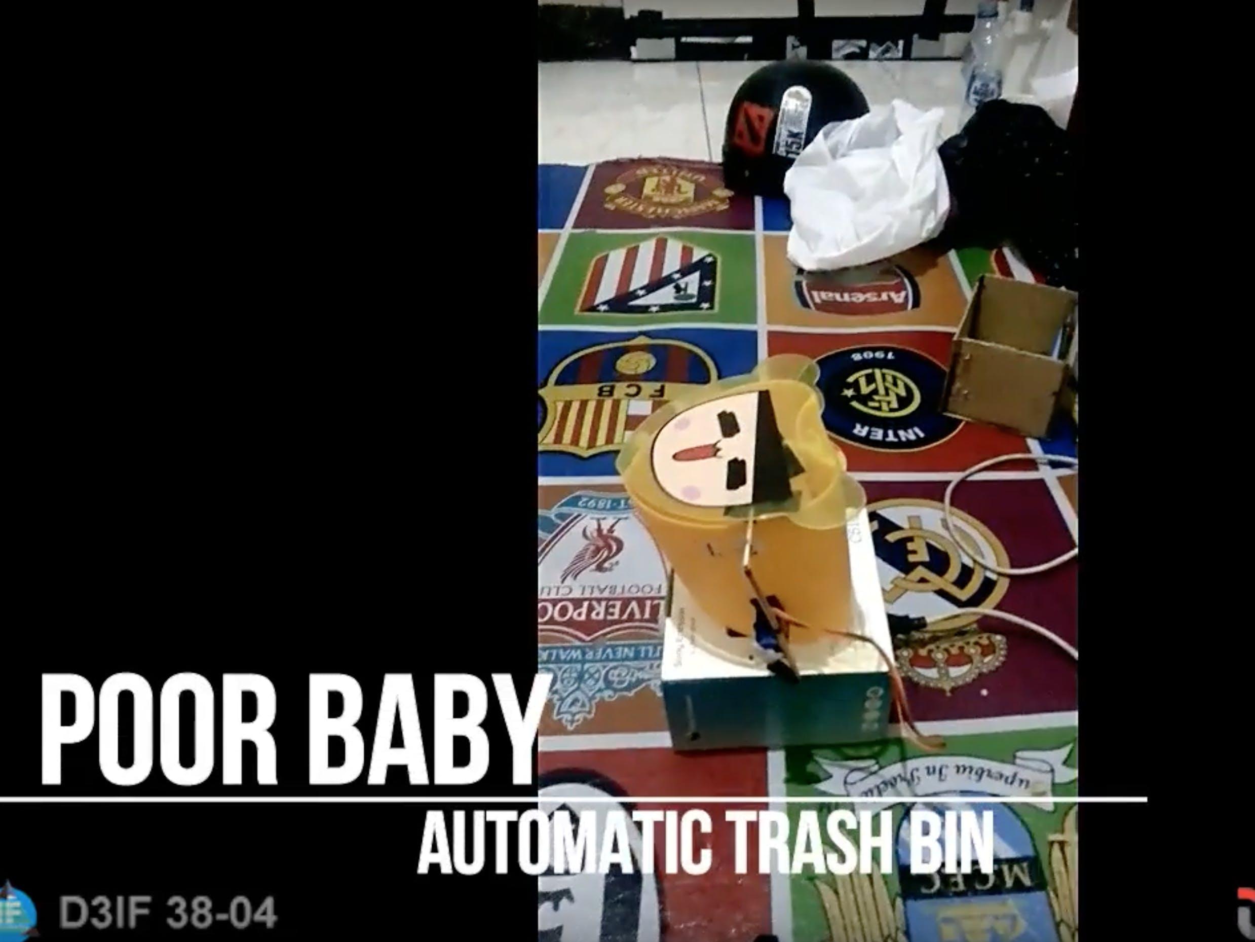 Automatic Trash Bin