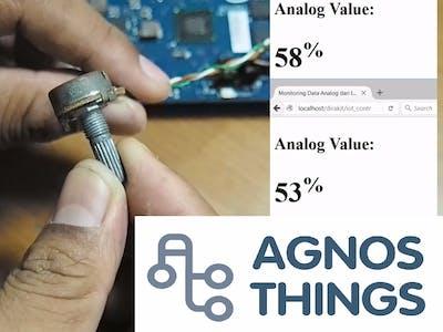 Membaca Sensor Analog pada Intel Galileo menggunakan Agnost