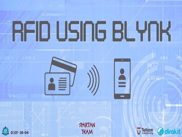Rfid using BLynk