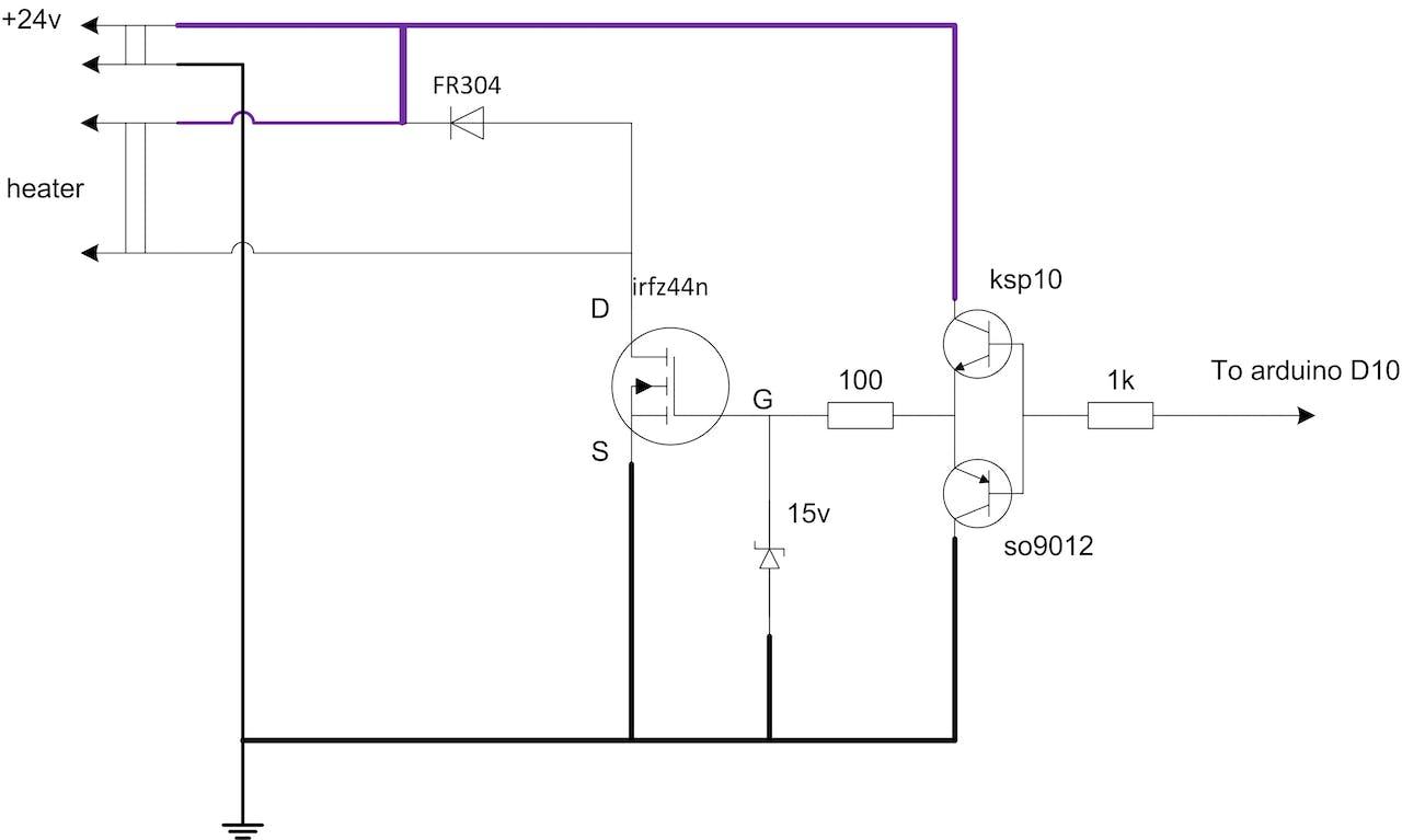 WRG-7799] K Type Temperature Controller Circuit Diagram
