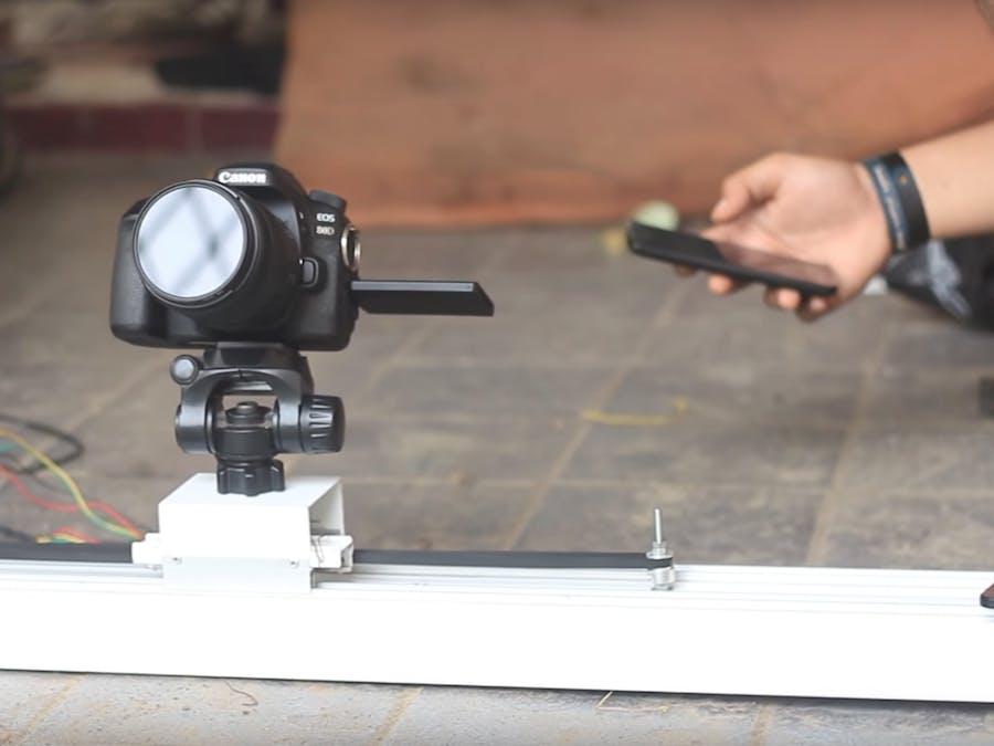 Motorized Camera Slider dengan Arduino UNO dan EasyDriver