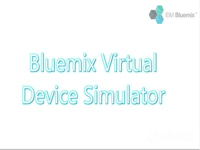 Pengaturan Device Simulator pada Bluemix