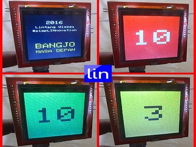 "Arduino Traffic Light with 2.4"" TFT LCD"