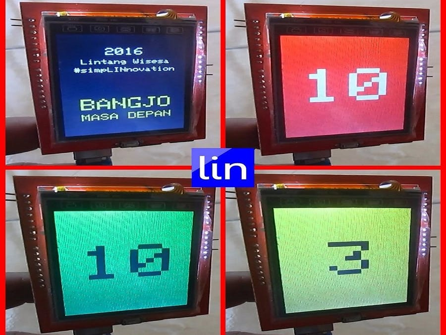 """Arduino Traffic Light with 2.4"""" TFT LCD"""