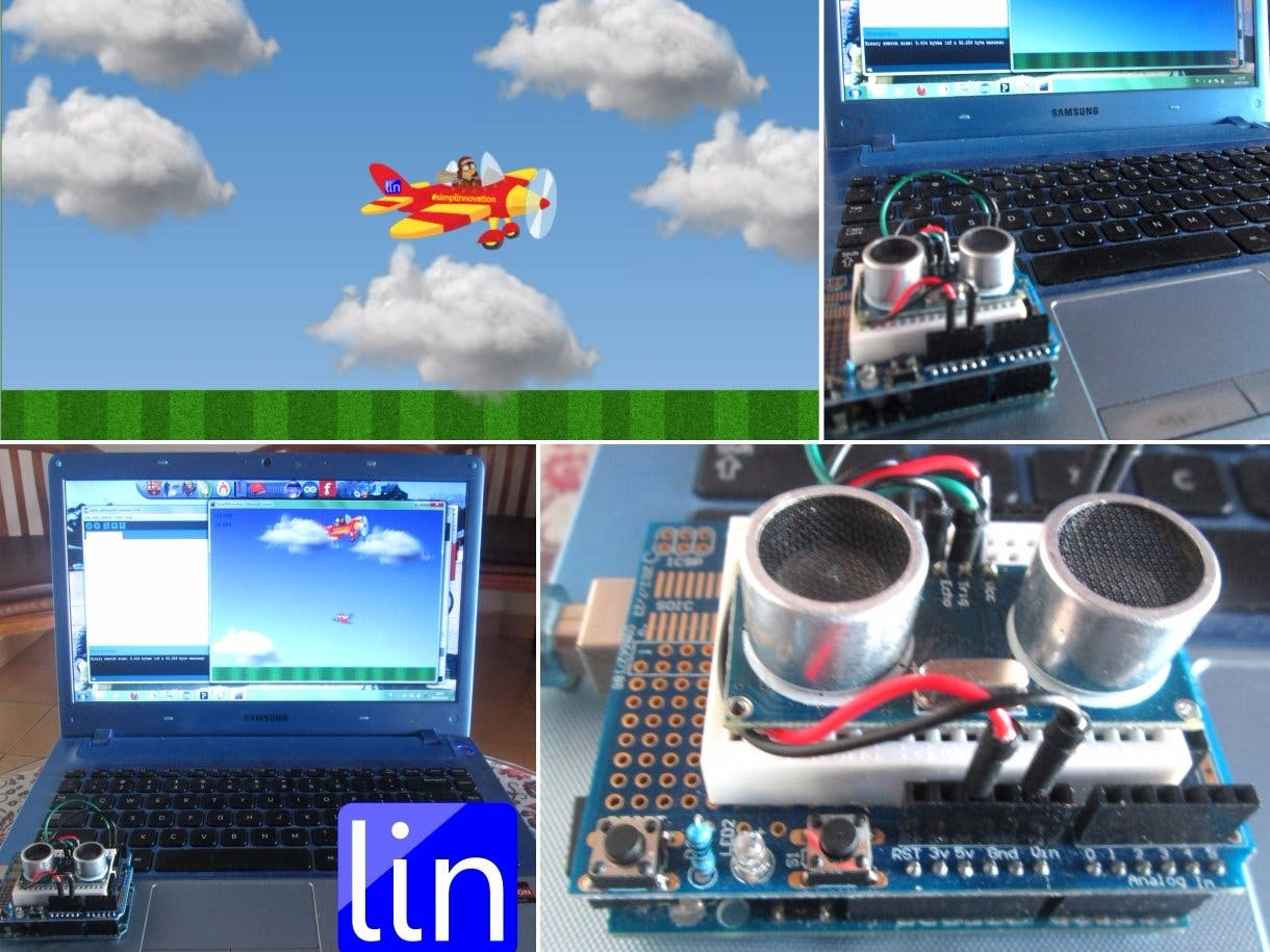 Ultrasonic Flying Game 1.0
