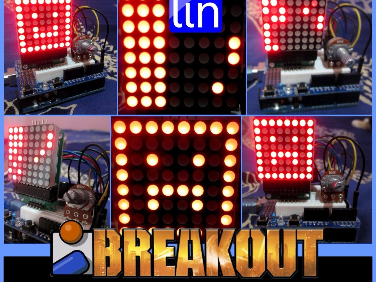 LED Breakout Game