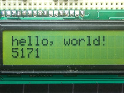 Using 16x2 LCD with Arduino - Arduino Project Hub