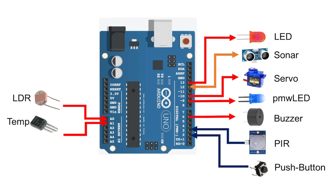 Electronic Playground With Arduino And Scratch 2 Simple Buzzer Using Only Passive Components