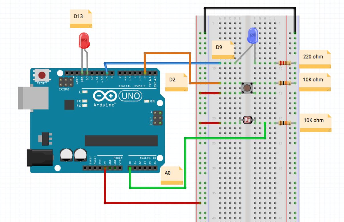 Circuit Diagram Breadboard