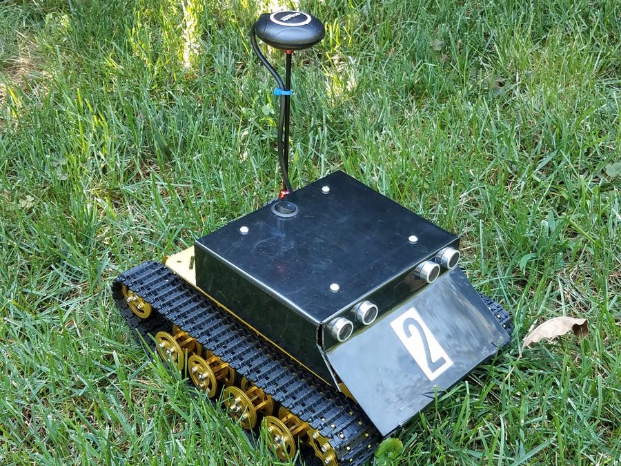 GPS + WiFi Rover