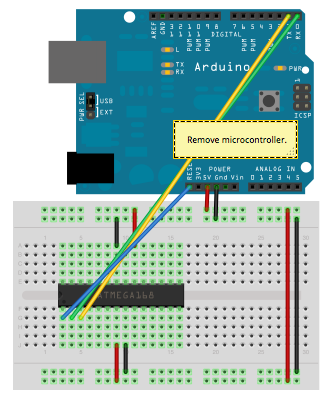 Arduino Without External Clock Crystal on ATmega328
