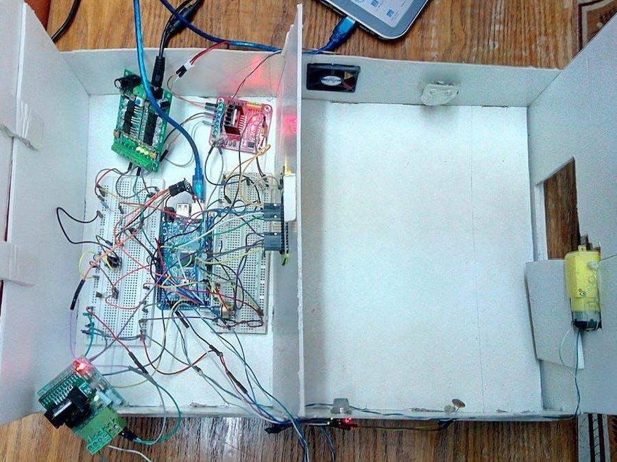 Smart Home Using Remote Sensing, Control & Monitoring (IoT)