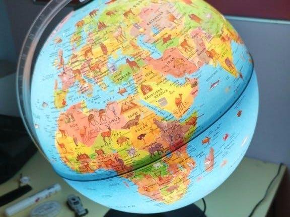 Cayenne Globe Light