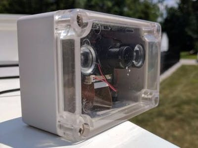 DIY Raspberry Pi Indoor Outdoor Webcam
