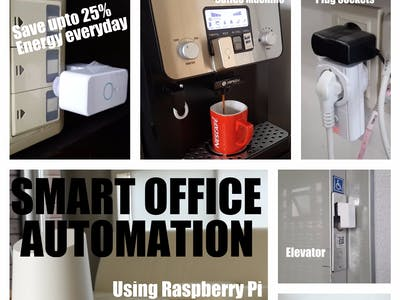 Smart Office Automation Using Raspberry Pi
