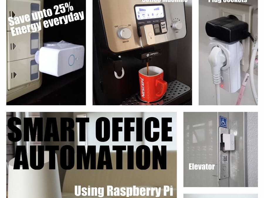 Smart Office Automation Using Raspberry Pi - Hackster io