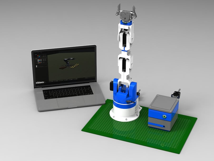 6DOF Robotic Arm - Hackster io