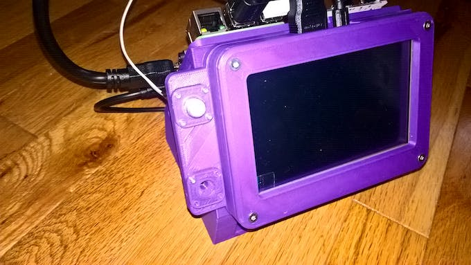 D printed case for a rasppi an arduino and