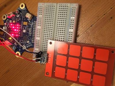 MPR121 Touch Pad an Calliope Mini über I2C