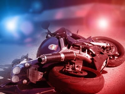 Motorcycle crash detection and response