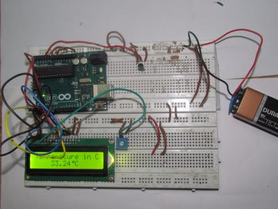 Arduino Based Digital Temperature Sensor