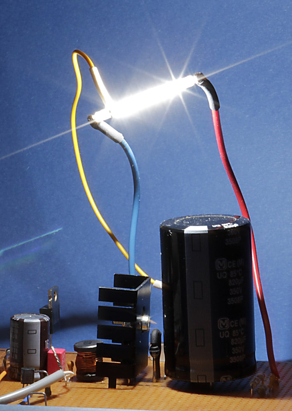 High Voltage Converter And Flash-Tube (Part 1)