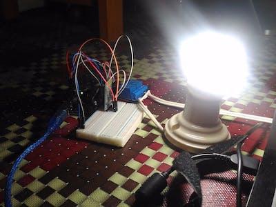 Menyalakan Lampu Dengan Perintah Suara