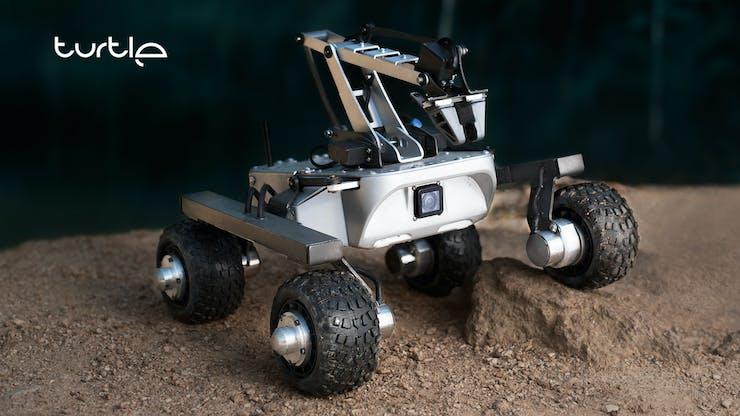 Turtle Rover - robotic open-source platform. www.turtlerover.com