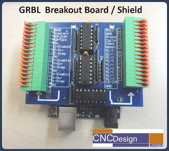 GRBL Breakout Board/Shield Arduino Uno - Arduino Project Hub