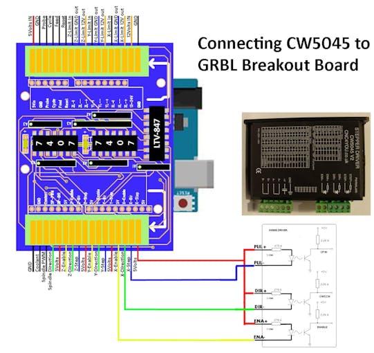 Grbl Breakout Board Shield Arduino Uno Hackster Io