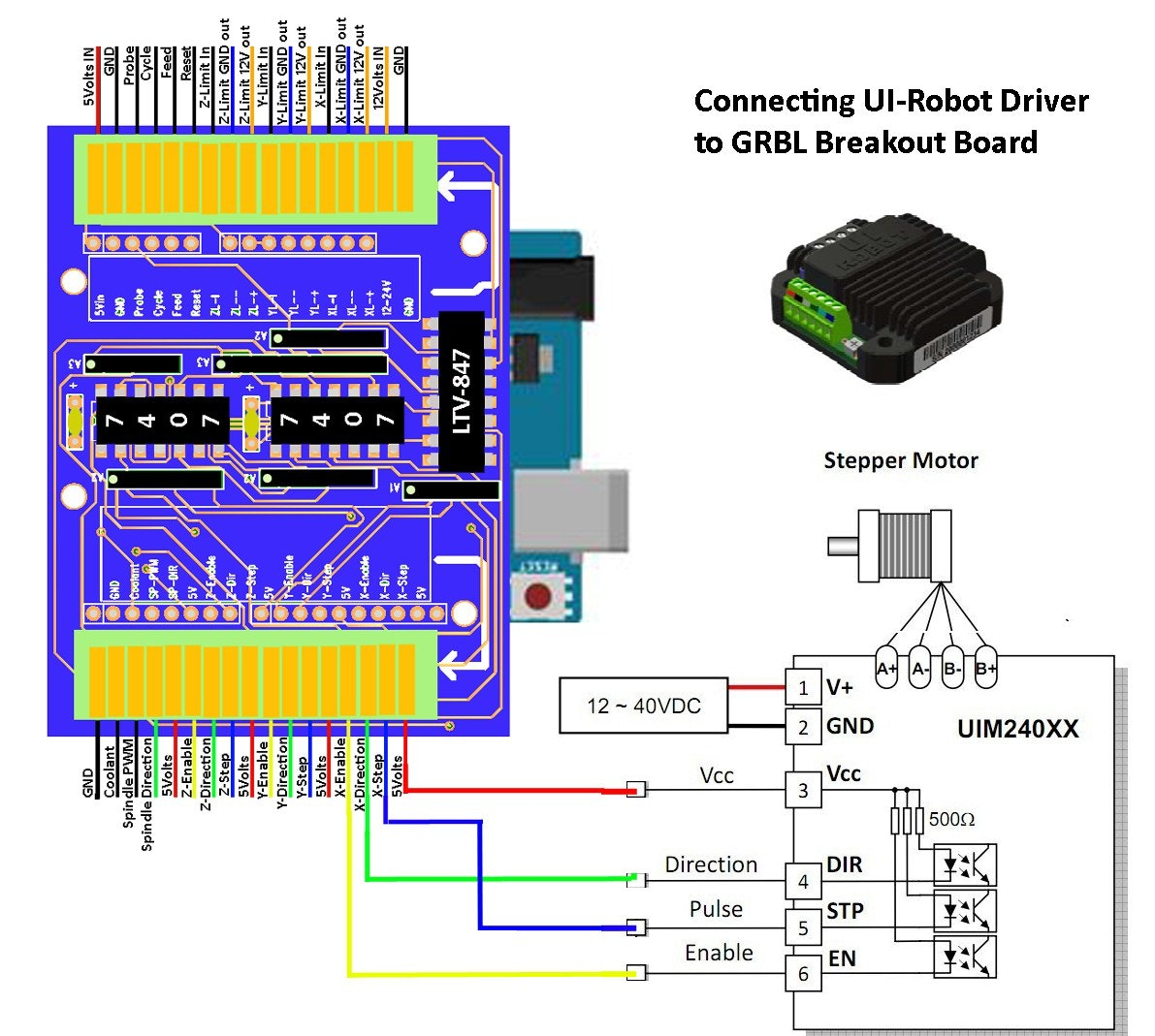 Db25 To Usb Cable Schematic 1205 Wiring Diagram Box 4 Axis Cnc