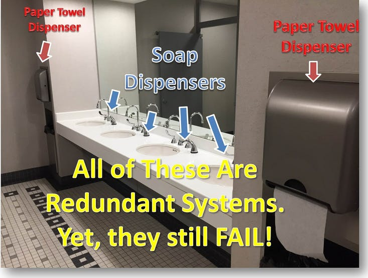 Our redundant systems