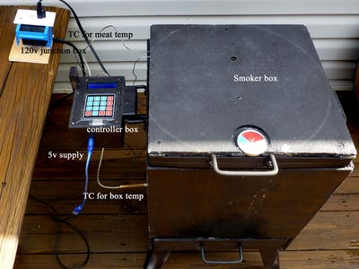 Complete PID Electric Smoker Control with Bluetooth