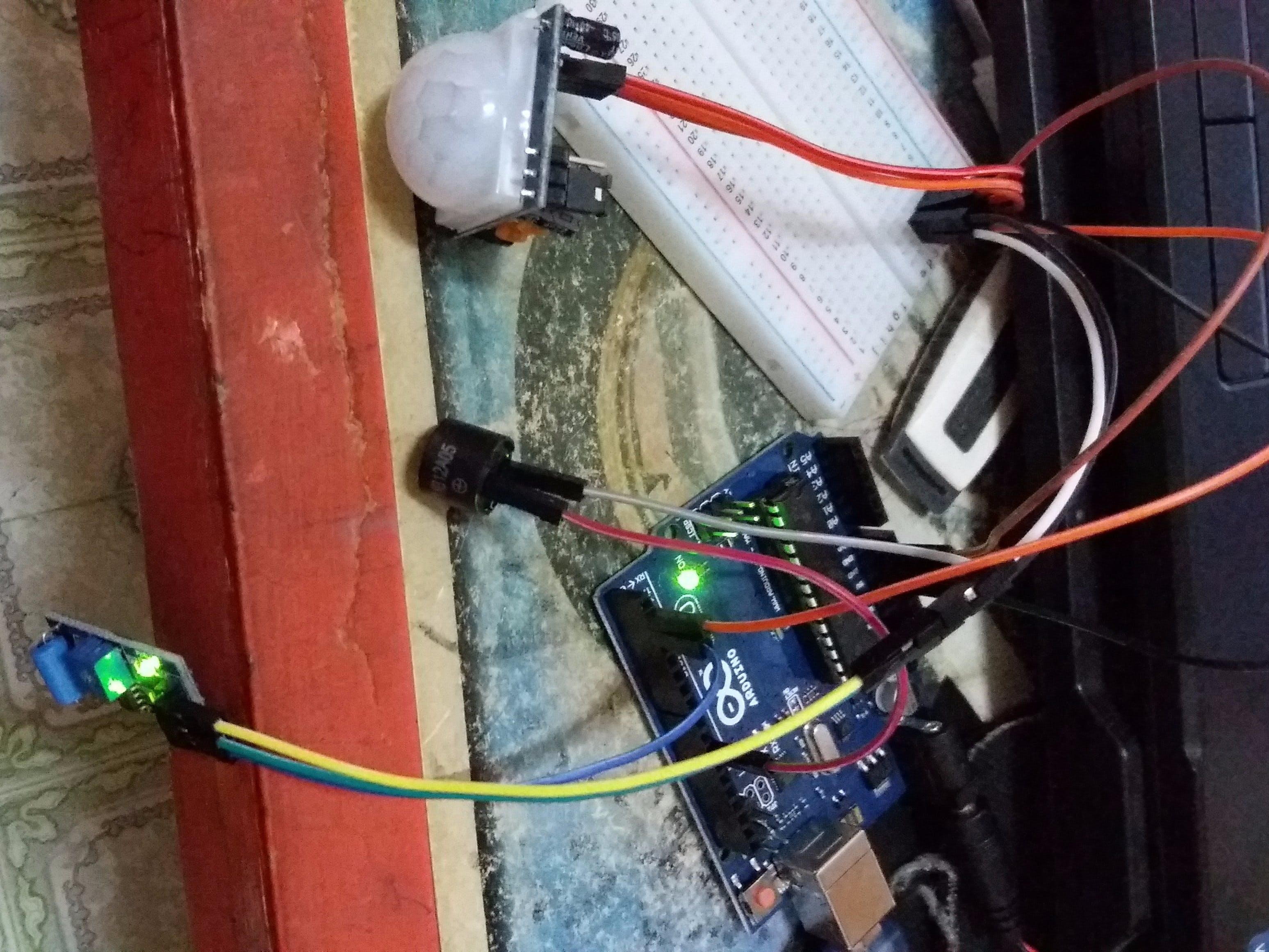 Tugas Orkom - Gembok Sepeda Pintar Dengan Sensor