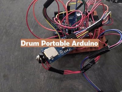 Drum Portable Arduino