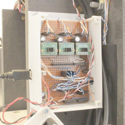 GRBL/Arduino home made shield