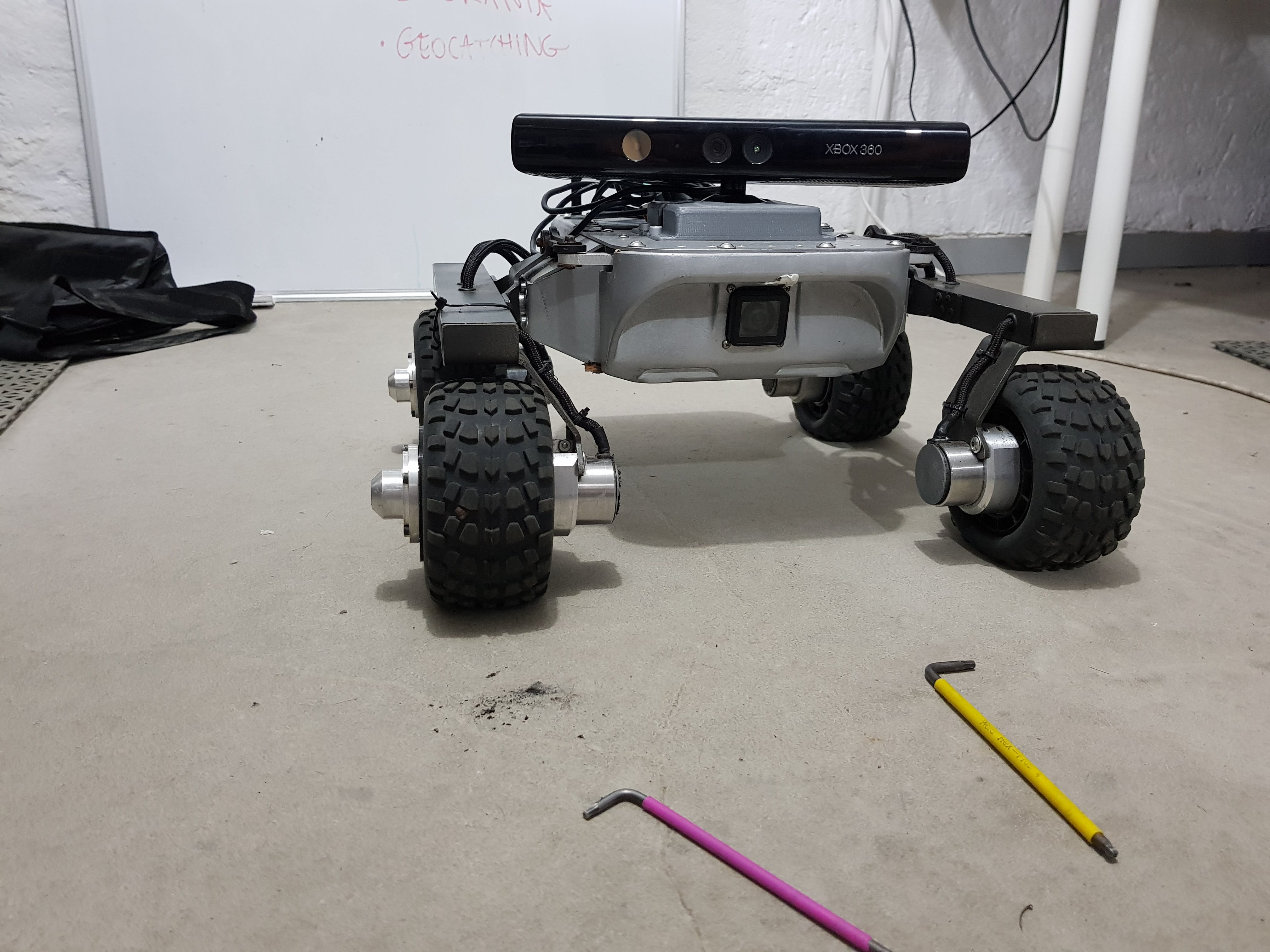 Turtle Rover with Microsoft Kinect sensor - www.turtlerover.com