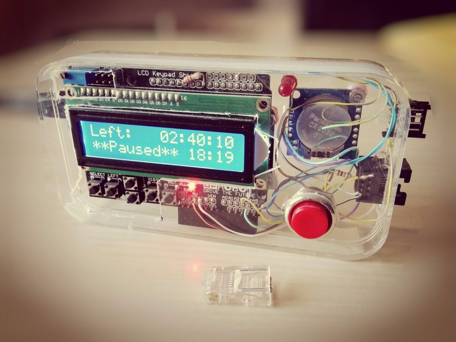 An Arduino-Based TV Smart Timer