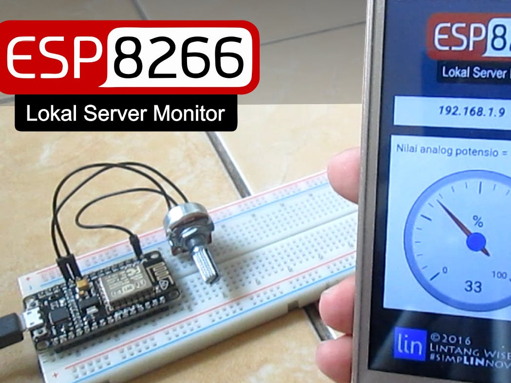 ESP8266 Web Server Data Monitor Android App
