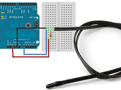 Arduino + Ethernet Shield to Monitor Temperature